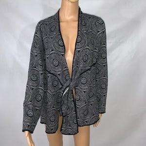 Dana buchman cardigan signature Size XL